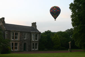 Hot Air Balloon over Cormiston Farm