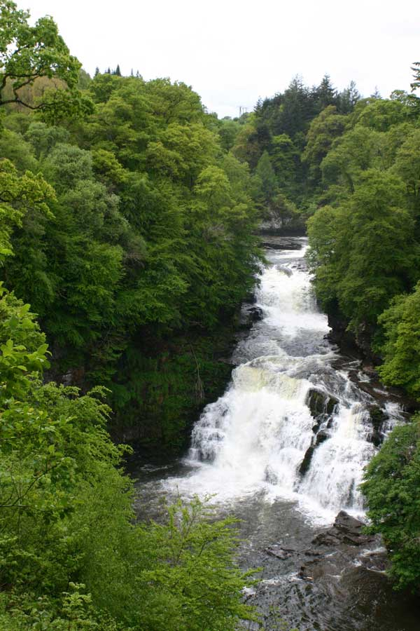 Corra Linn - The highest of the Falls of Clyde