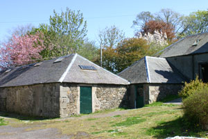 The Dairy and Byre - part of the Listed Georgian Steading